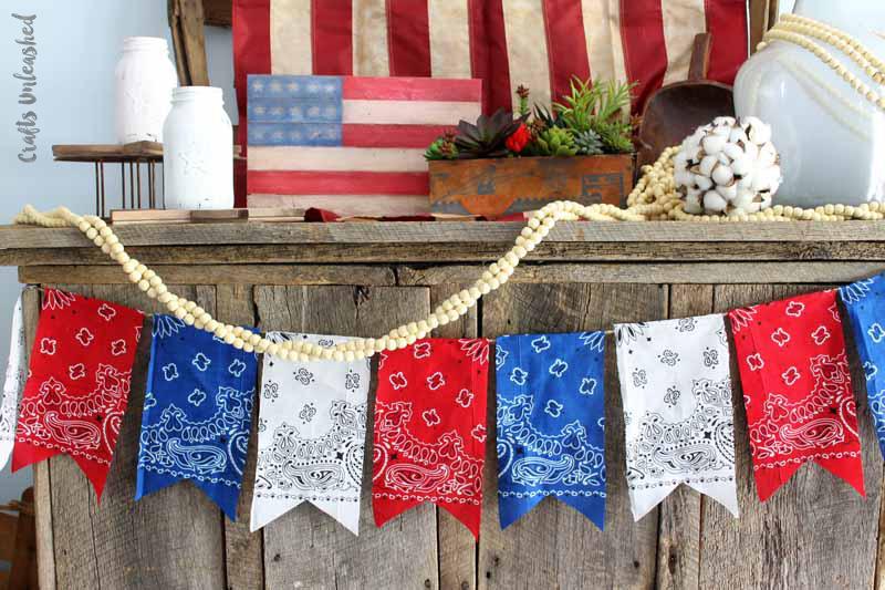 Patriotic Decor - Show your inner American through your decor!