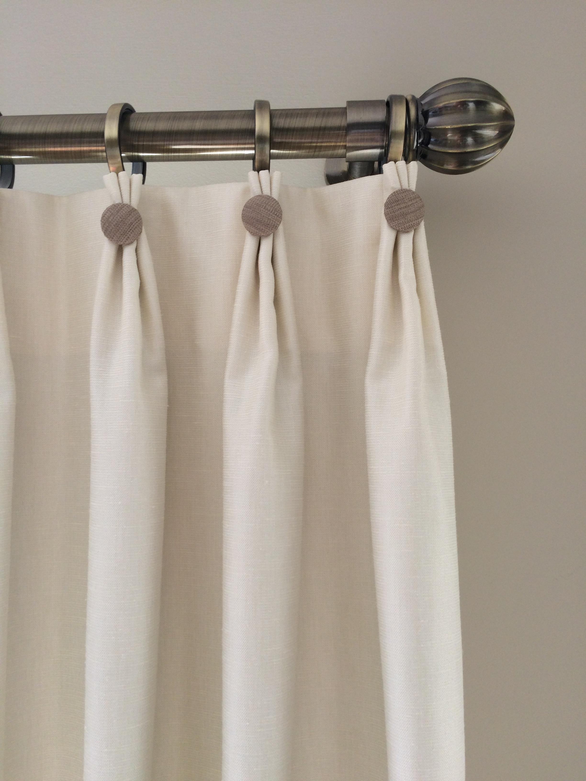decorative top pinch pleat drapes