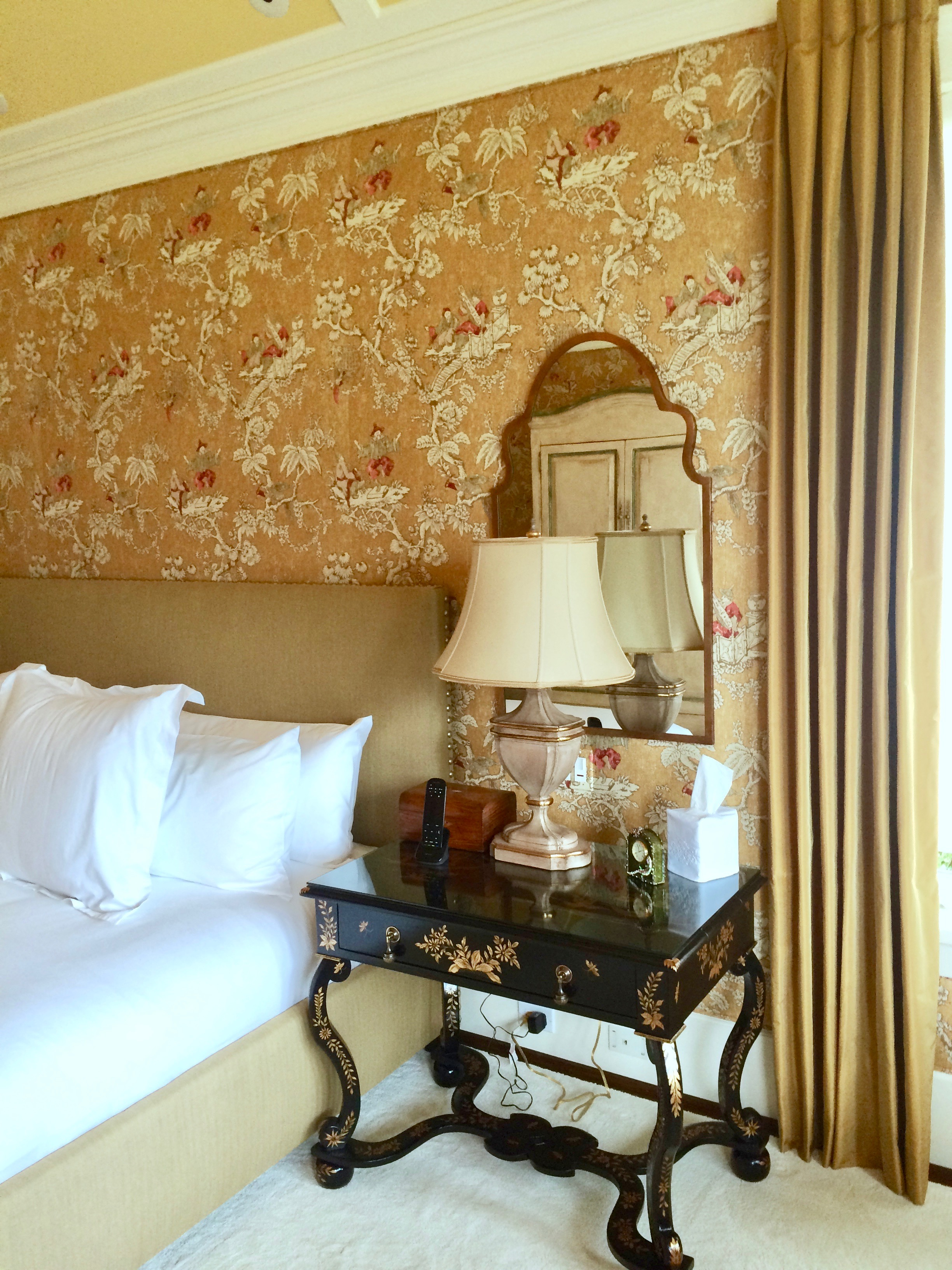 3) Traditional padded,upholstered wall.jpg