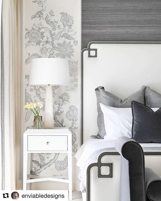 Such a beautiful space by @enviabledesigns and yes agreed it is all in the details. ・・・ #repost @enviabledesigns  It's all in the details.  This serene bedroom is a beautiful contrast of whites and shades of dark plums.  Interiors designed by @enviabledesigns #interiordesign #beautiful #residentialarchitecture #residentialdesign #renovation #bedroomdesign #customfurniture #interiors #design #vancouverdesigner #luxury #custom #marble #velvet @tracey_ayton @marinoltd @onceatreefurniture @fabulousfurnishingsupholstery