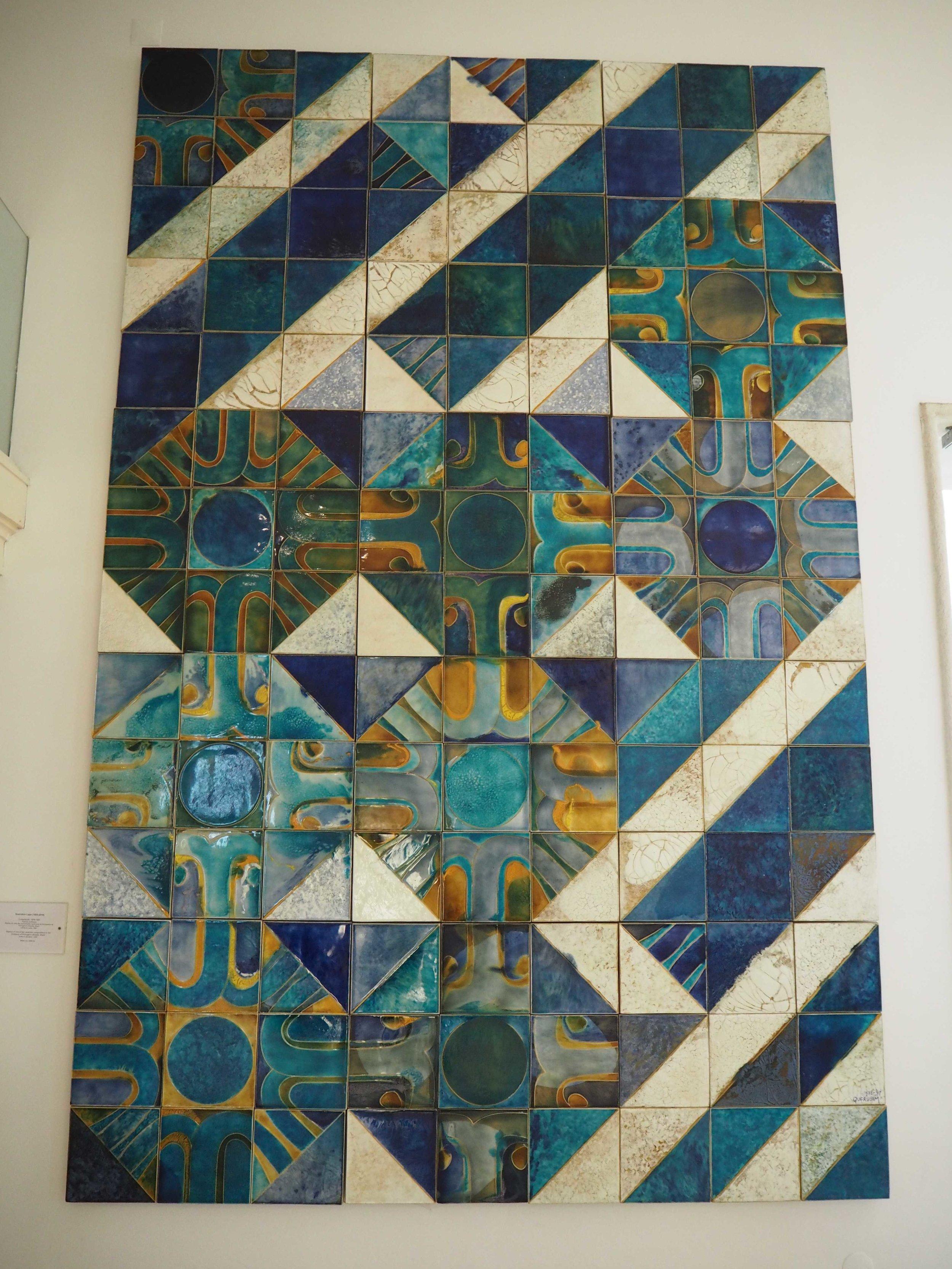 Tiles in the National Tile Museum Lisbon