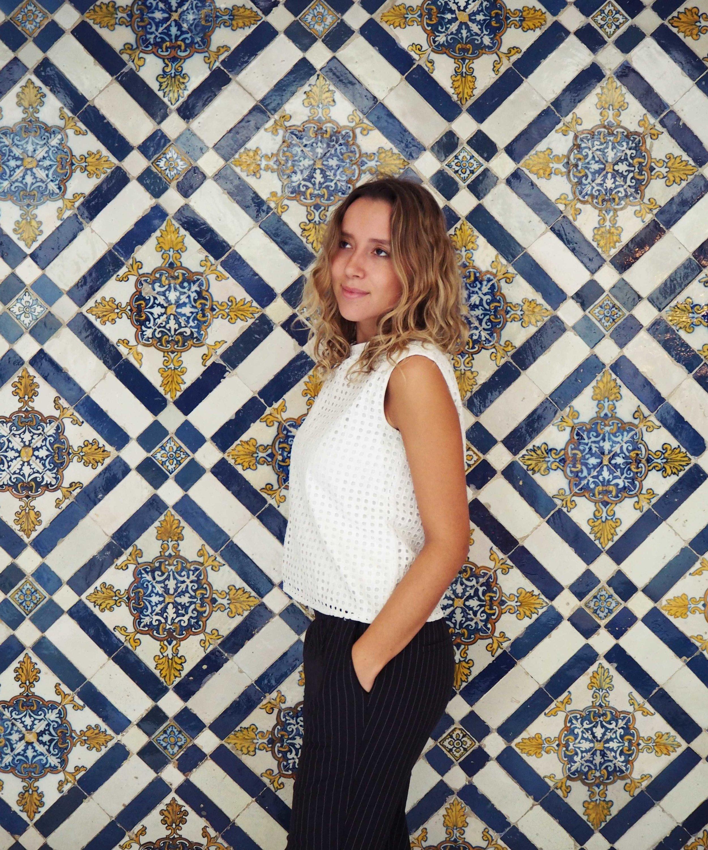 Tile Portrait National Tile Museum Lisbon