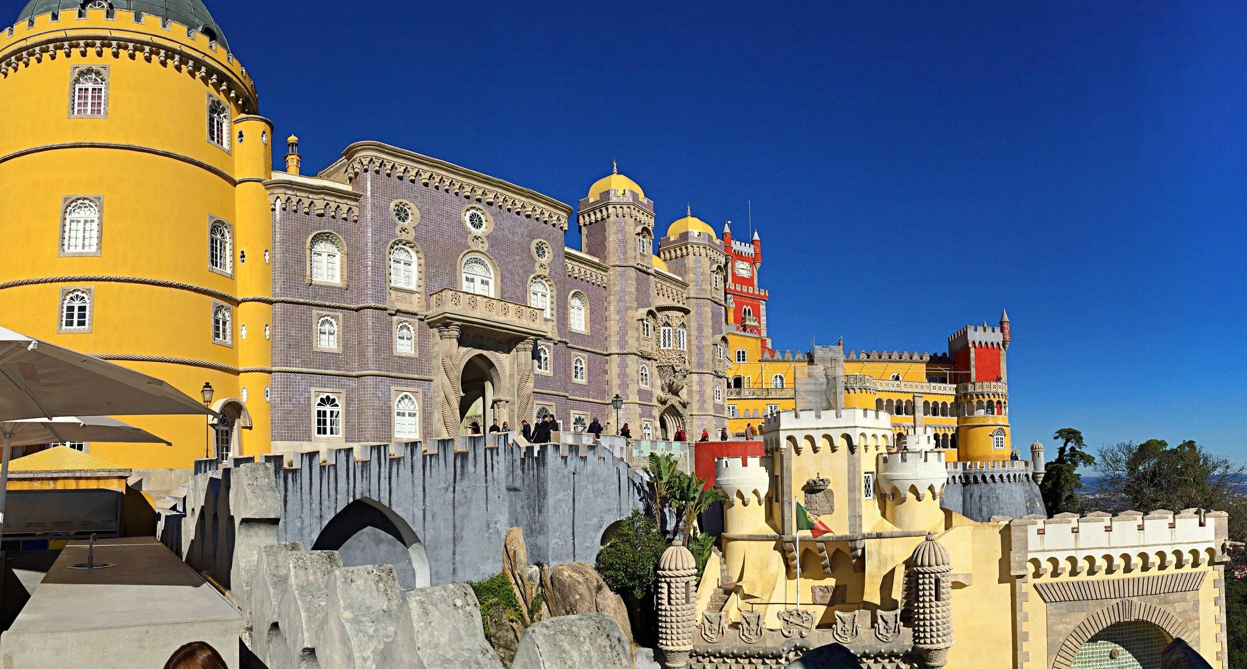 Panorama Palacio Da Pena