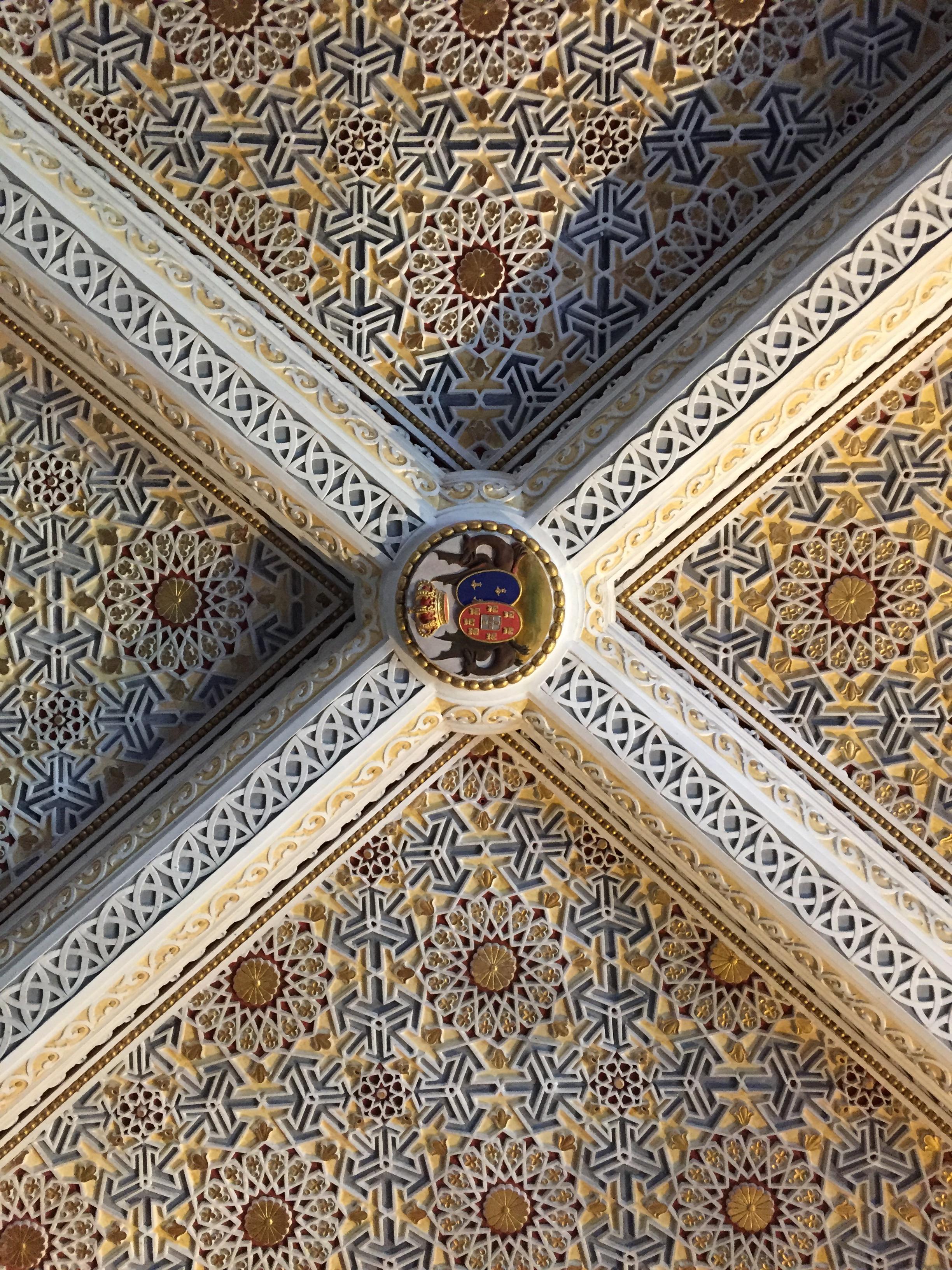 Inside the Palacio Da Pena