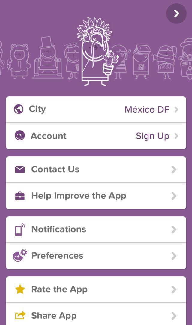 Citymapper - Interface