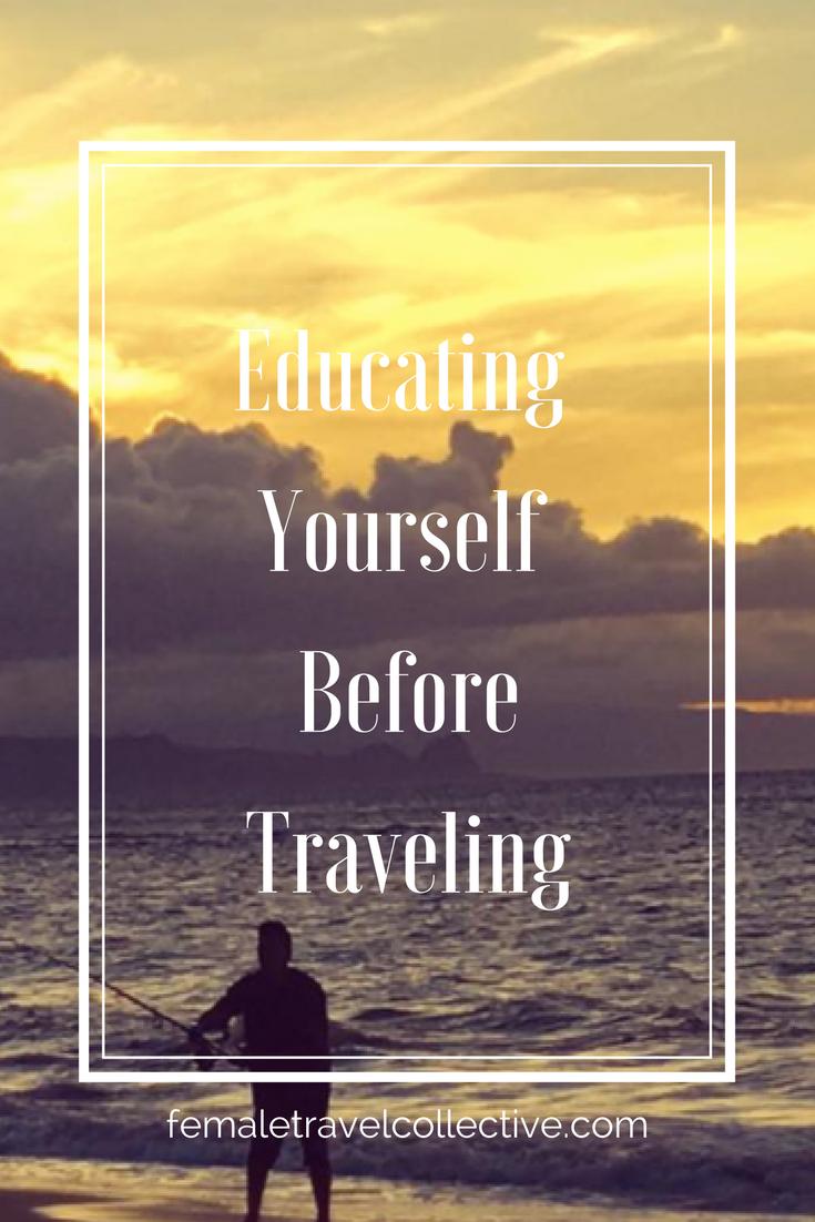 Pinterest Educating Myself before traveling