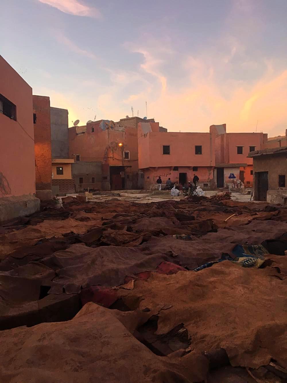 Tanneries, The Medina Morocco
