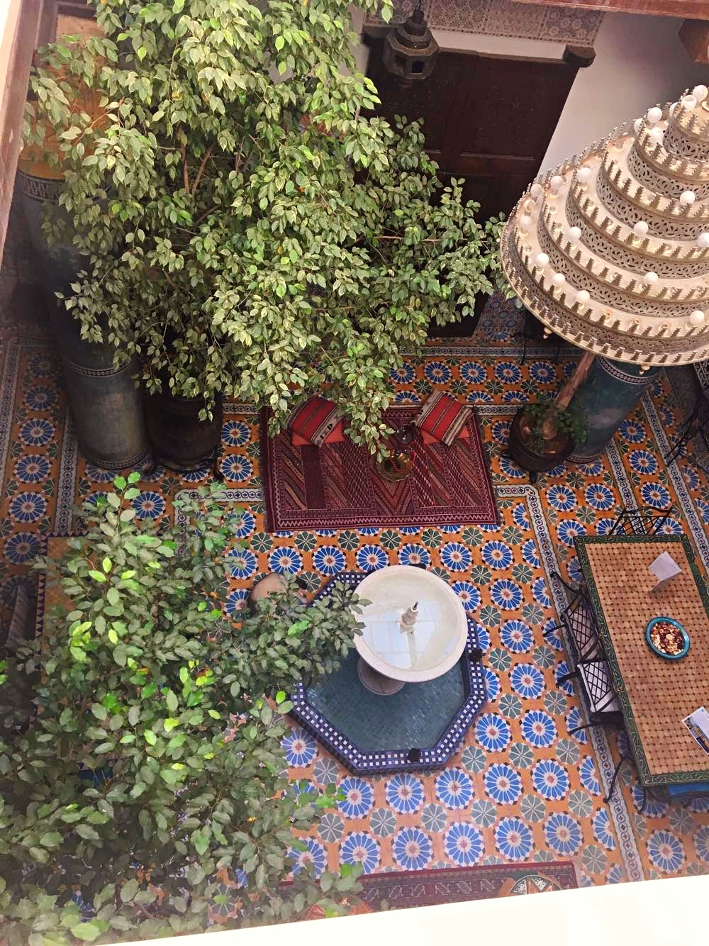 Staying at a Moroccan Riad