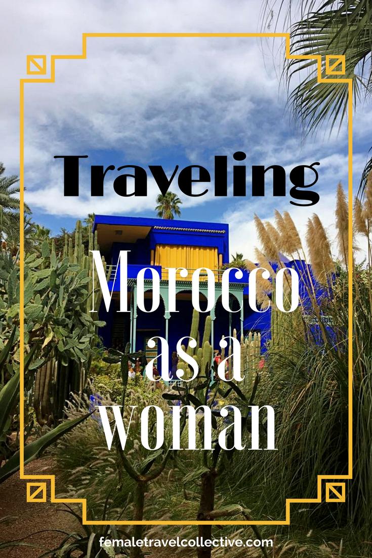 Travel Morocco as a woman