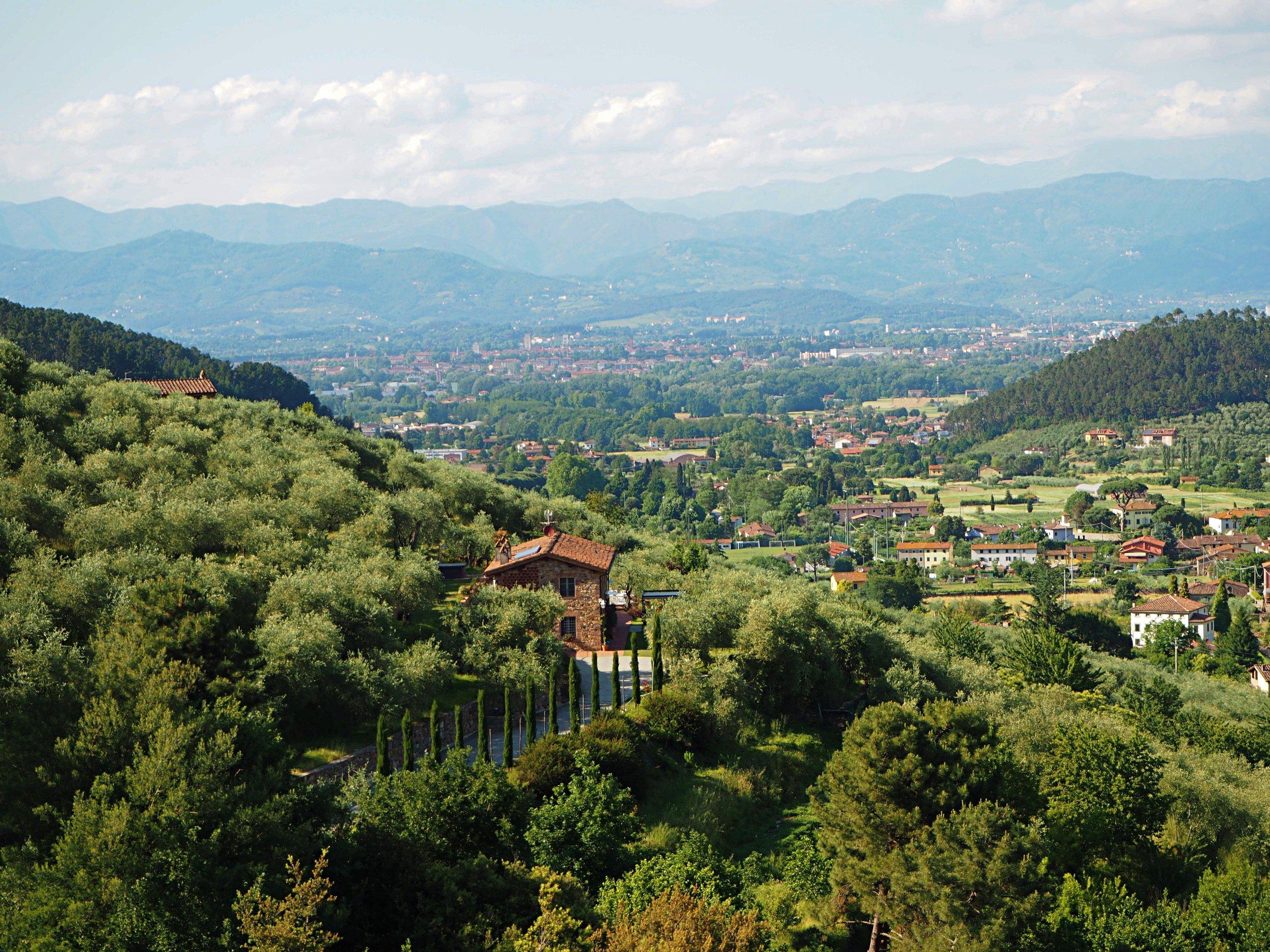 View from  Vorno  Hills