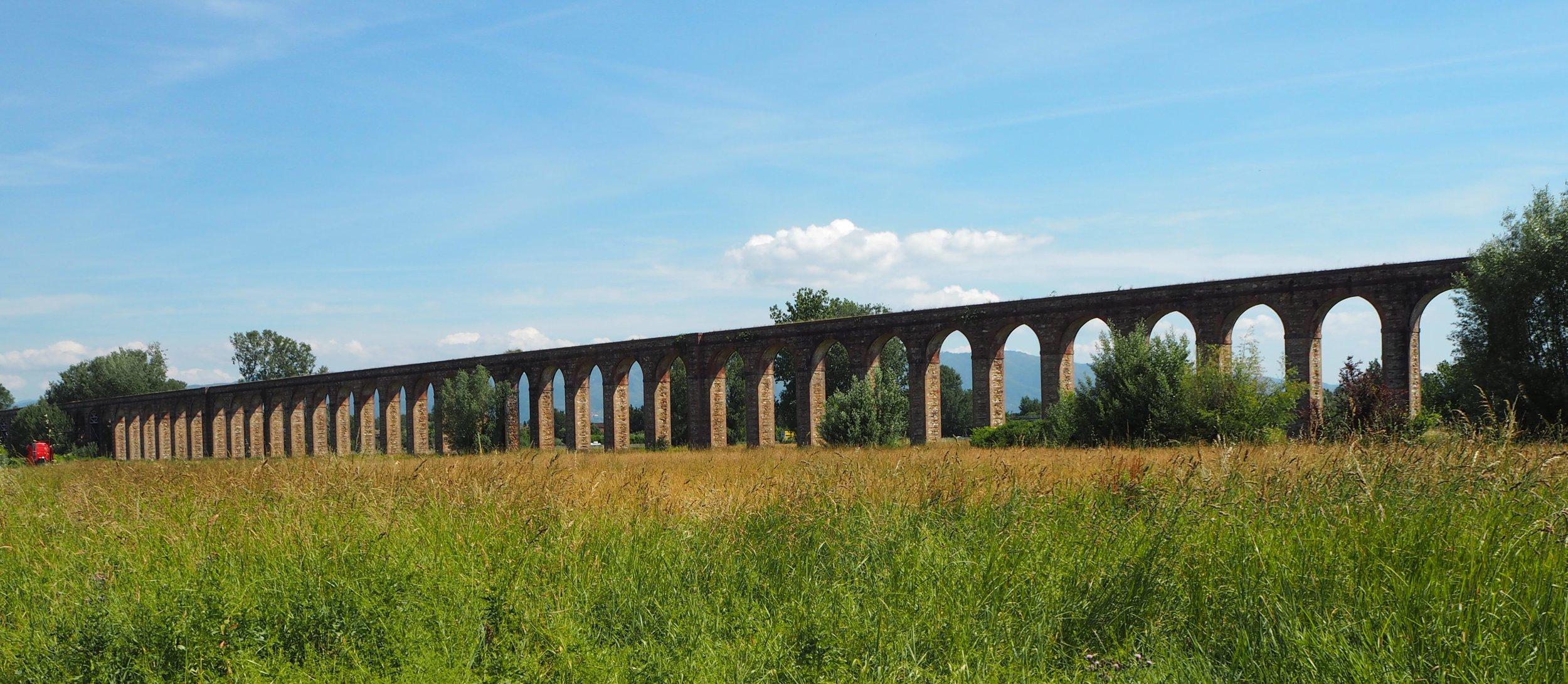 Aqueduct of Nottolini near Lucca