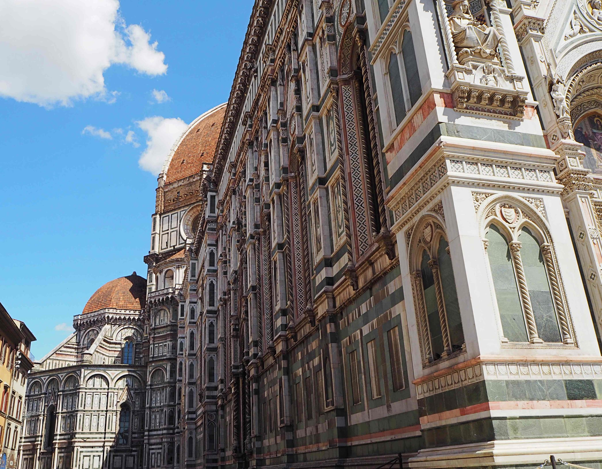 Dome left view Florence