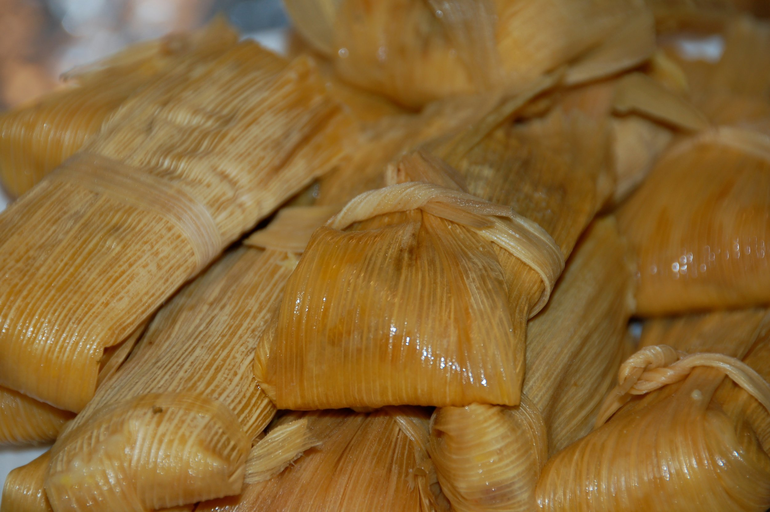 Tamales - Picture taken by Aaron