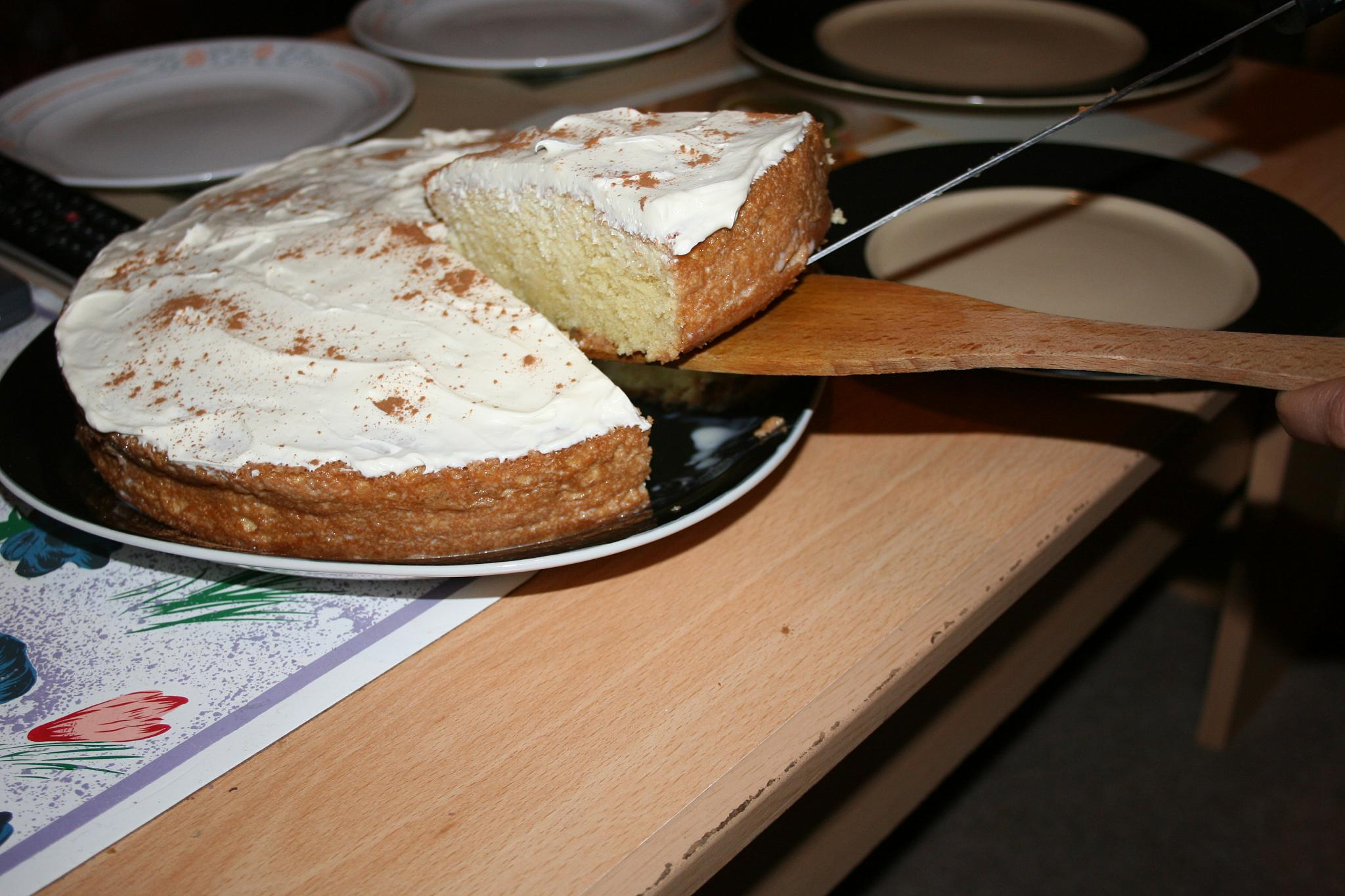 Tres Leches Cake - Picture taken by  Jonathan Bennett
