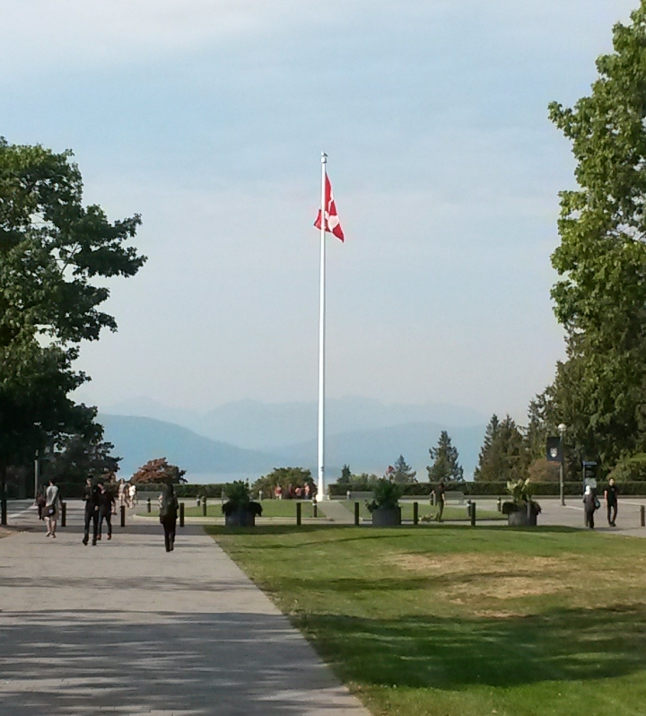 FLag at UBC