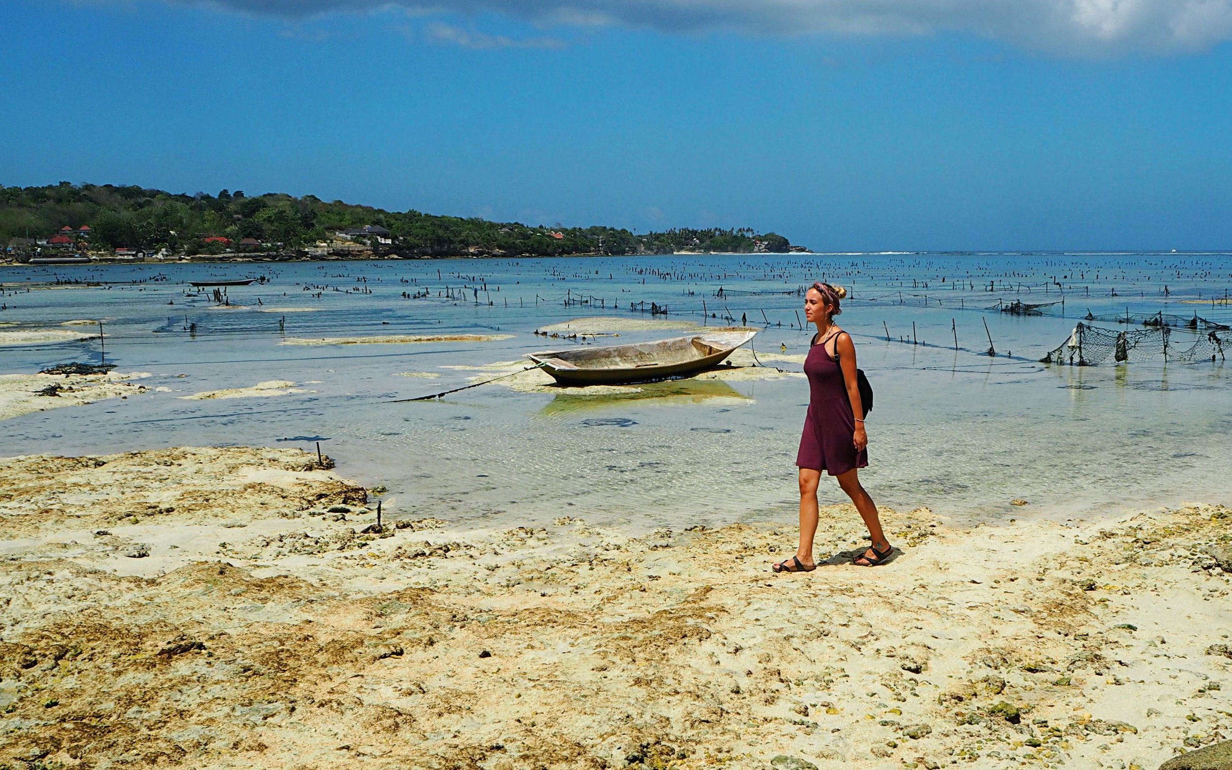 Taking a walk is a good way to reflect when you travel bali solo as a woman