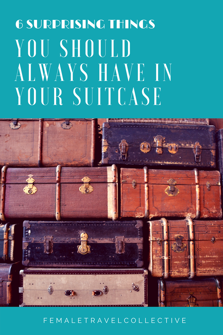 6 Things you should always have in your suitcase