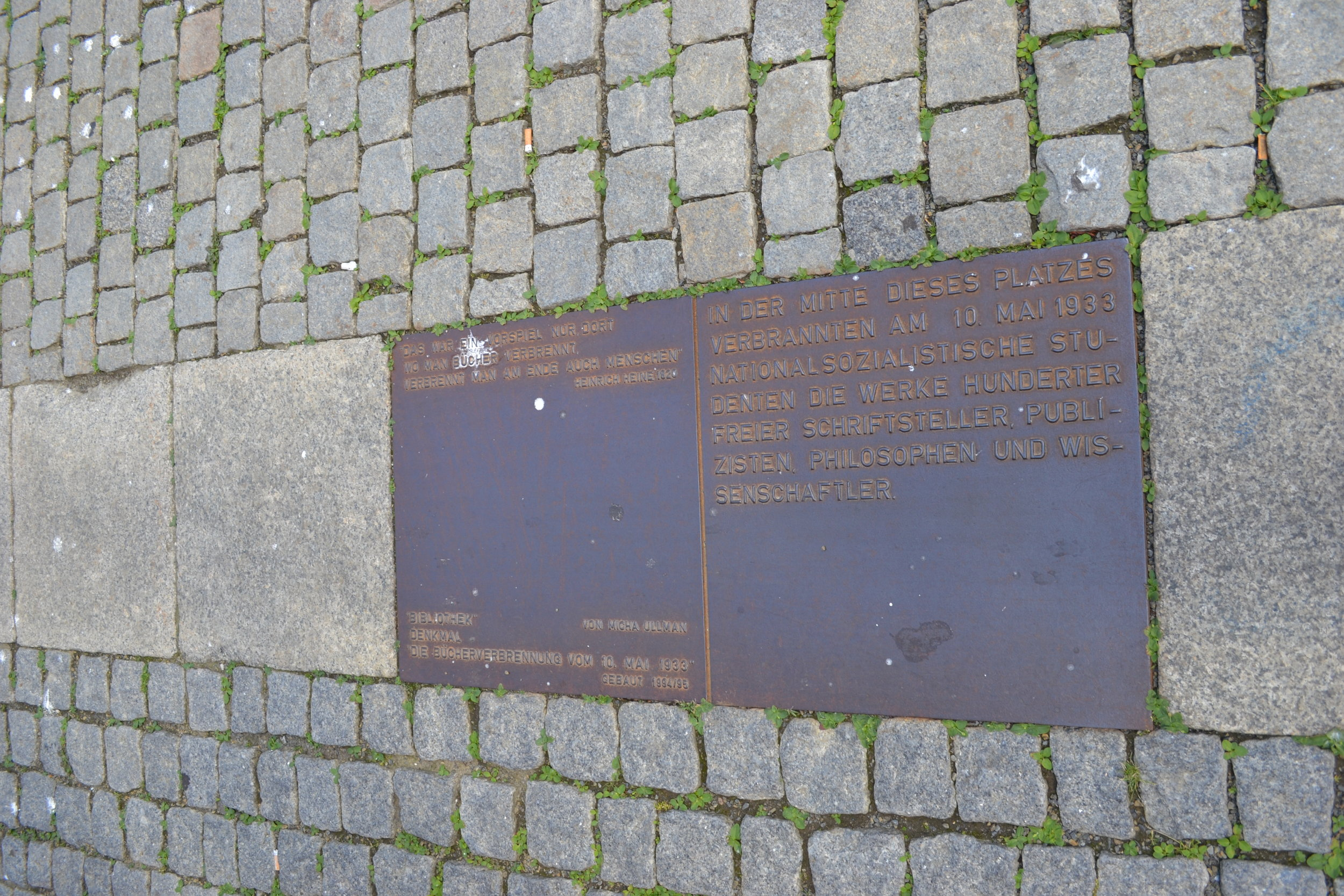 Memorial to the Burning of the Books