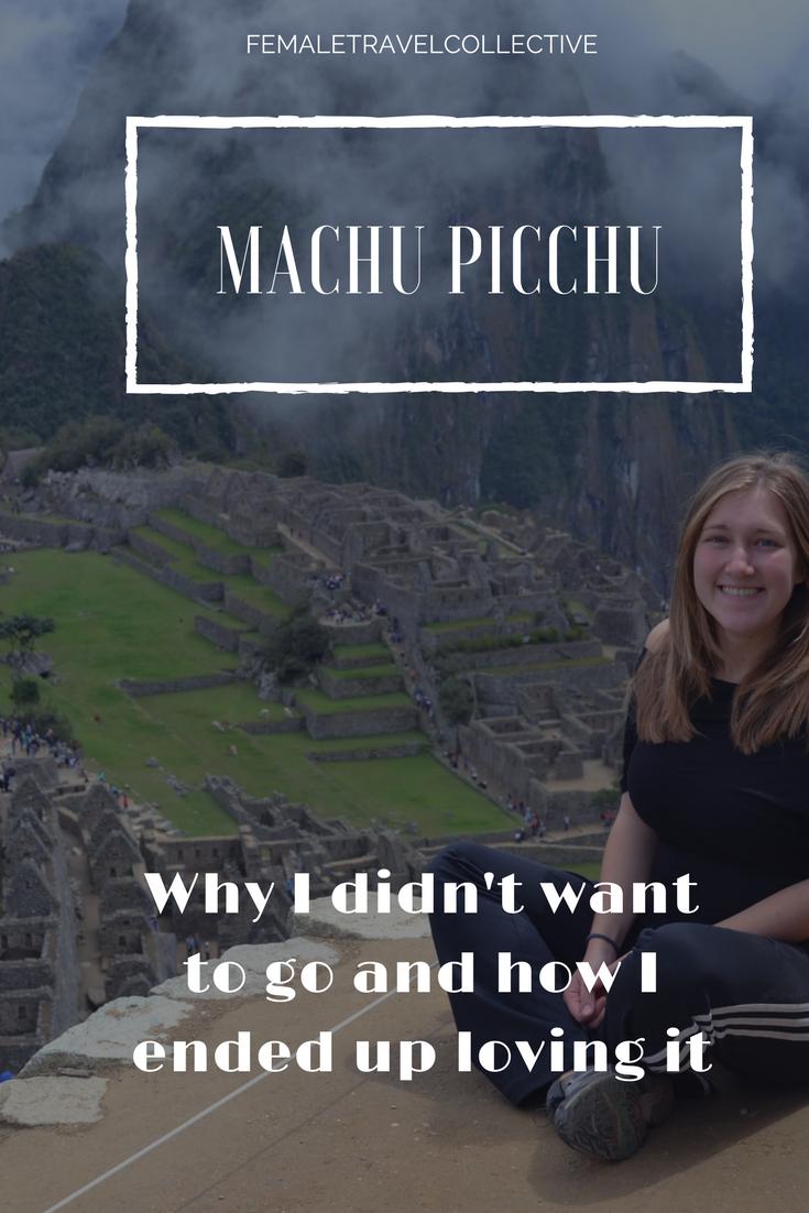 Machu Picchu Pinterest