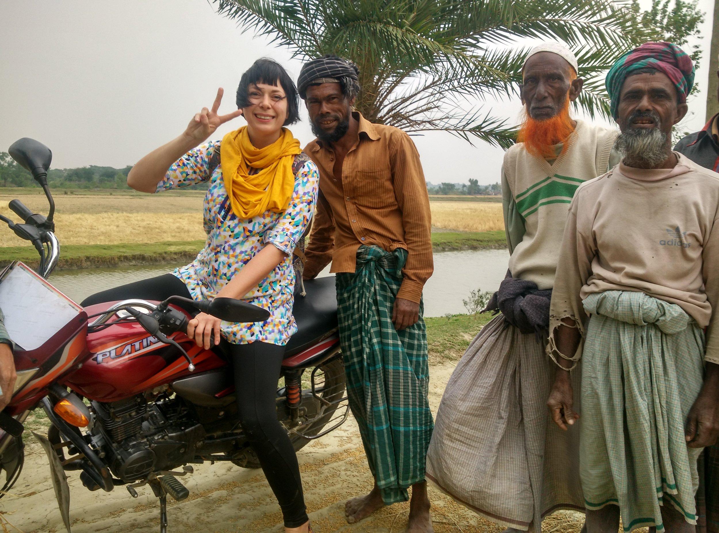 Alice Teacake in Bangladesh