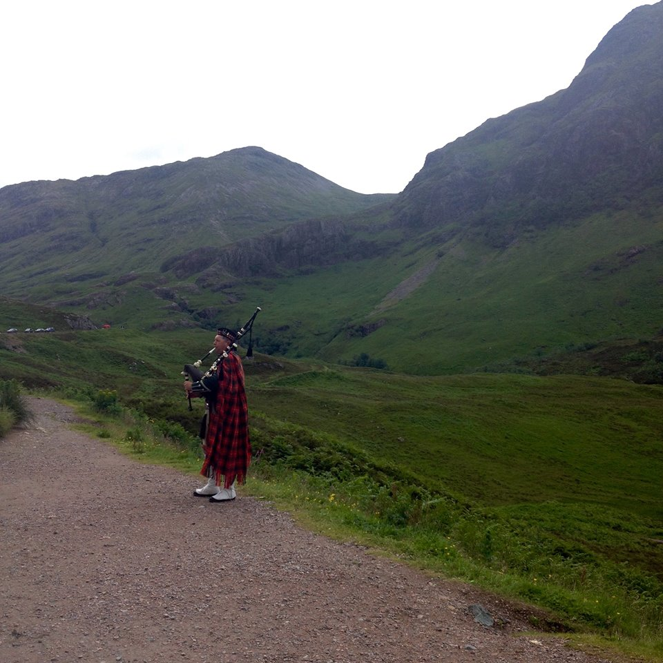 I would have enjoyed my week in Scotland much more were it not for being deathly ill from my infected bite.