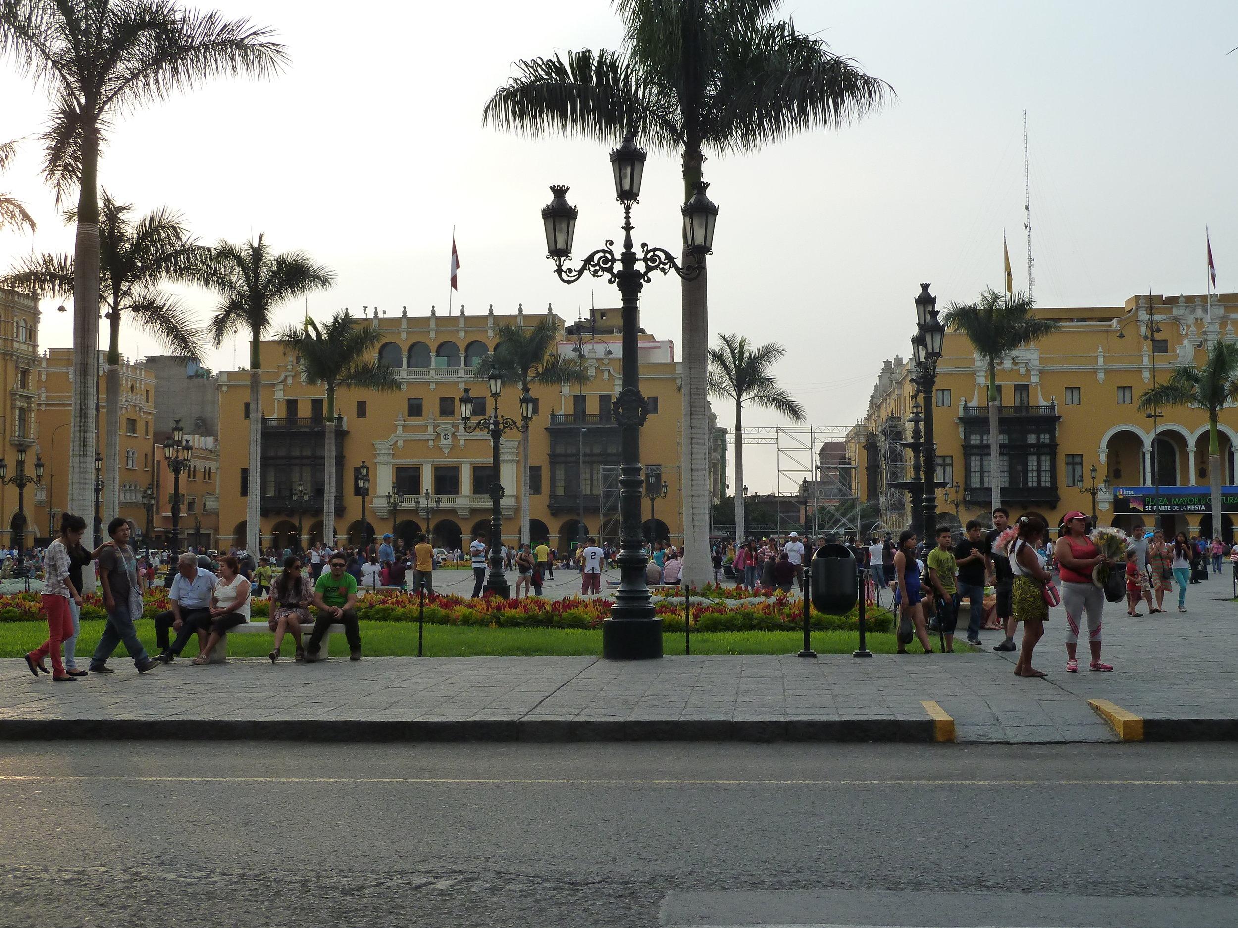 Exploring beautiful Lima Centro