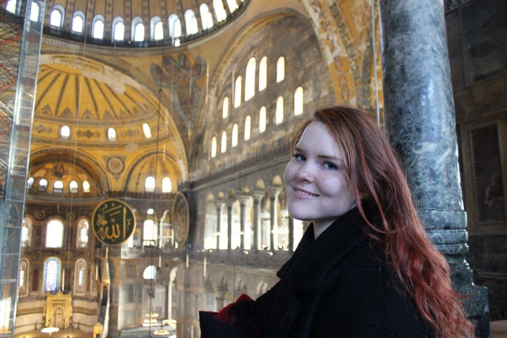 Visiting the Hagia Sophia was a surreal experience, and although under renovation when I visited, it was marvelous.