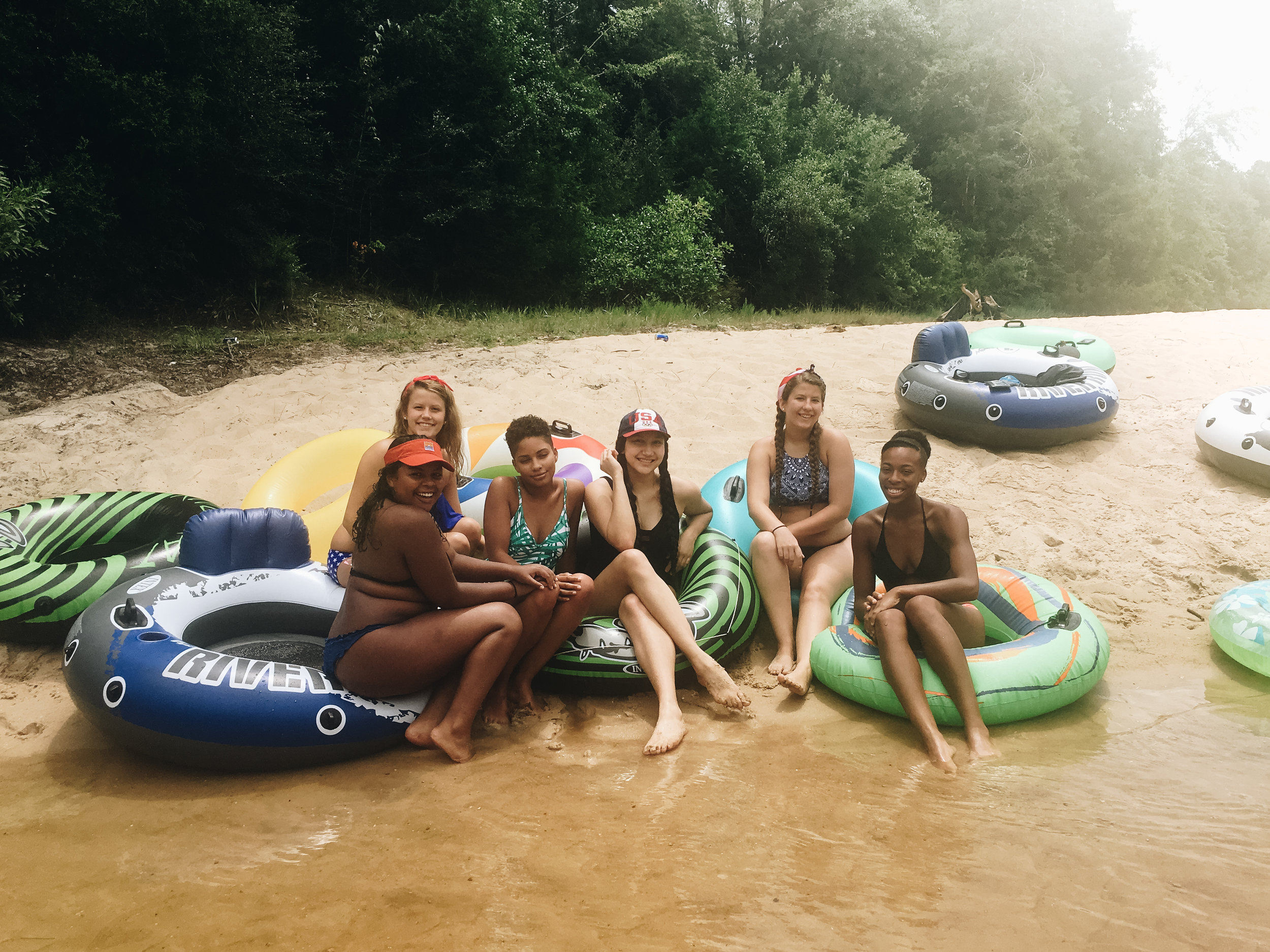 Tubing with Adventures Unlimited