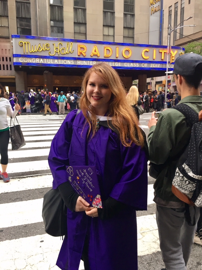 Graduating college at Radio City Hall in Manhattan was a surreal experience!