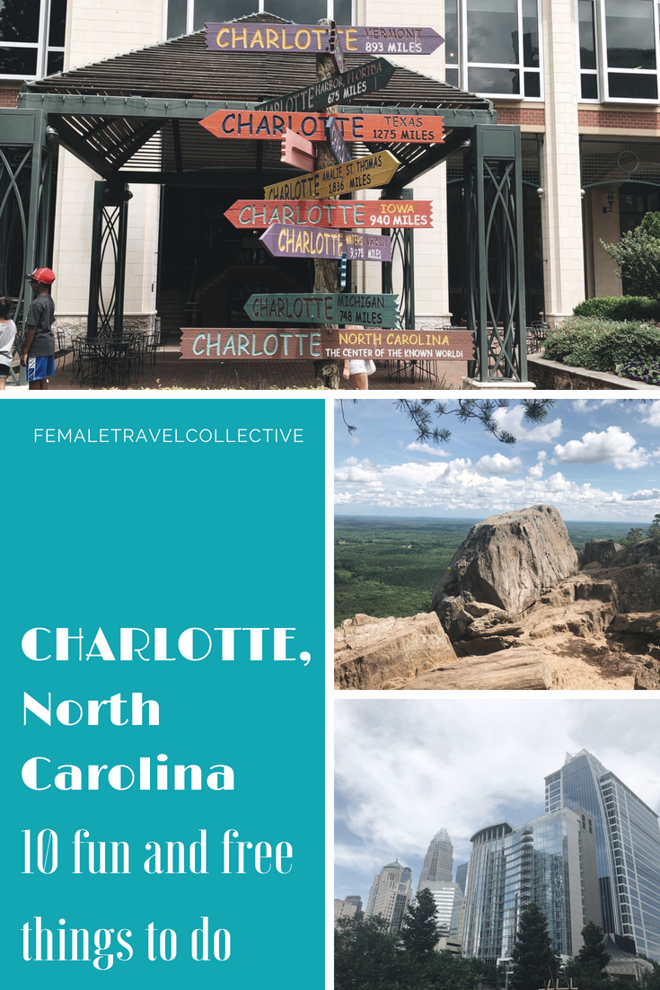 10 Fun and Free Things to do in Charlotte, North Carolina Pinterest