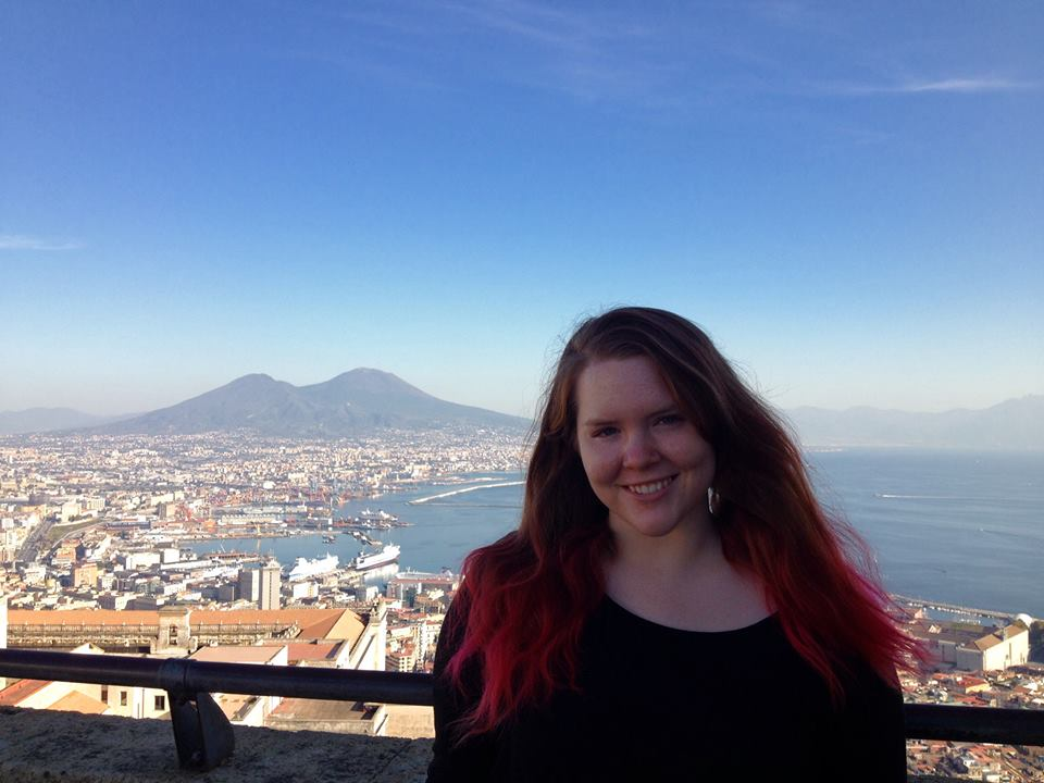 It was so surreal to see Mount Vesuvius in real life!