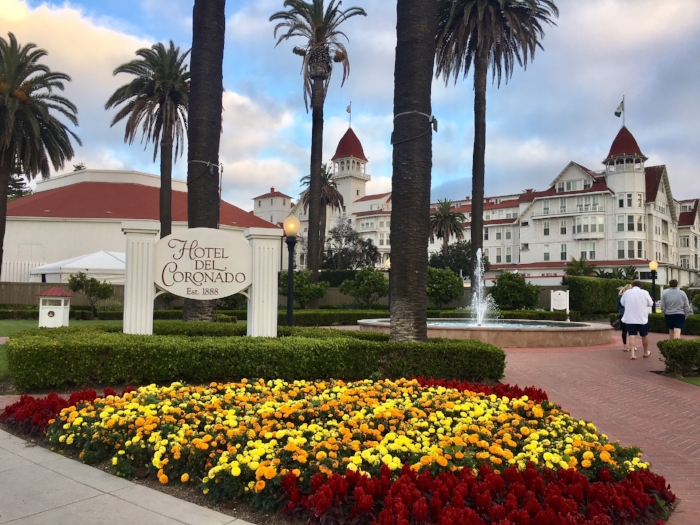 The history and beautiful grounds of San Diego's Hotel Del Coronado make it a must-see for any tourist.