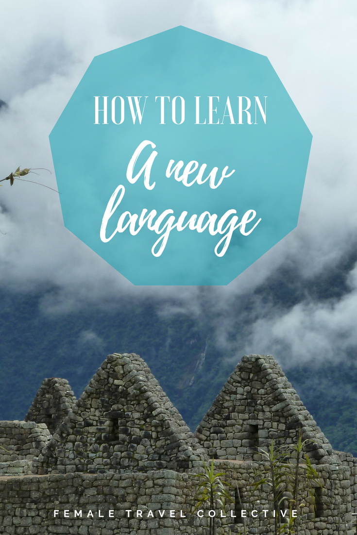THe best way to learn a language pinterest