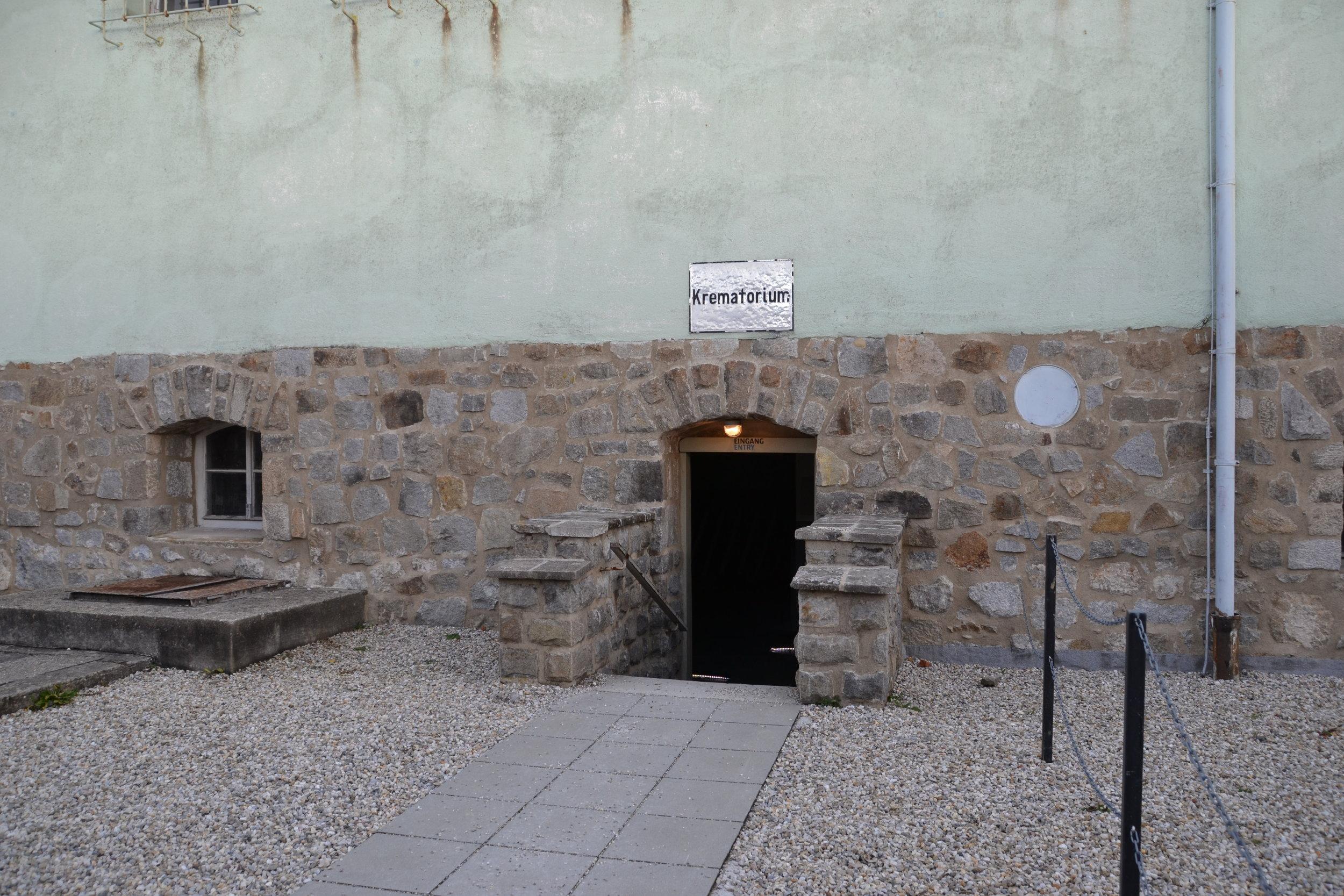 Krematorium Entrance