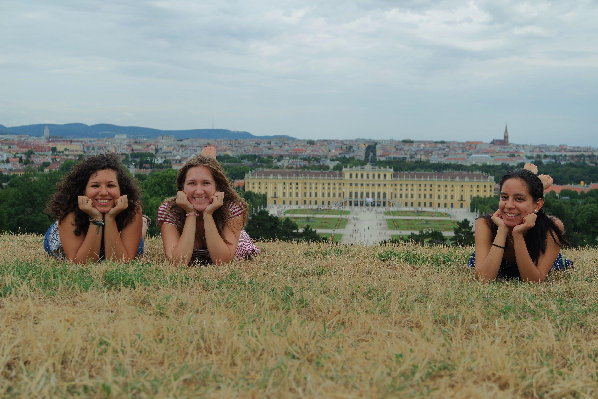 Exploring Schönbrunn with Friends