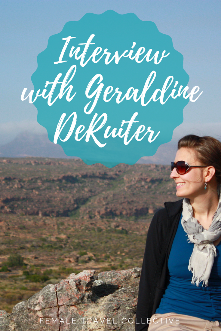 Interview with Geraldine De Ruiter Pinterest