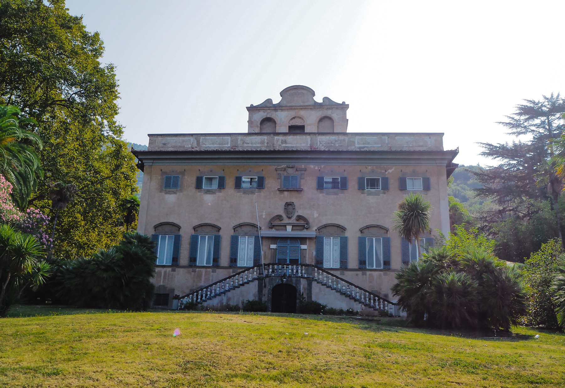 Villa di Corliano in Tuscany close to Pisa - the wedding location