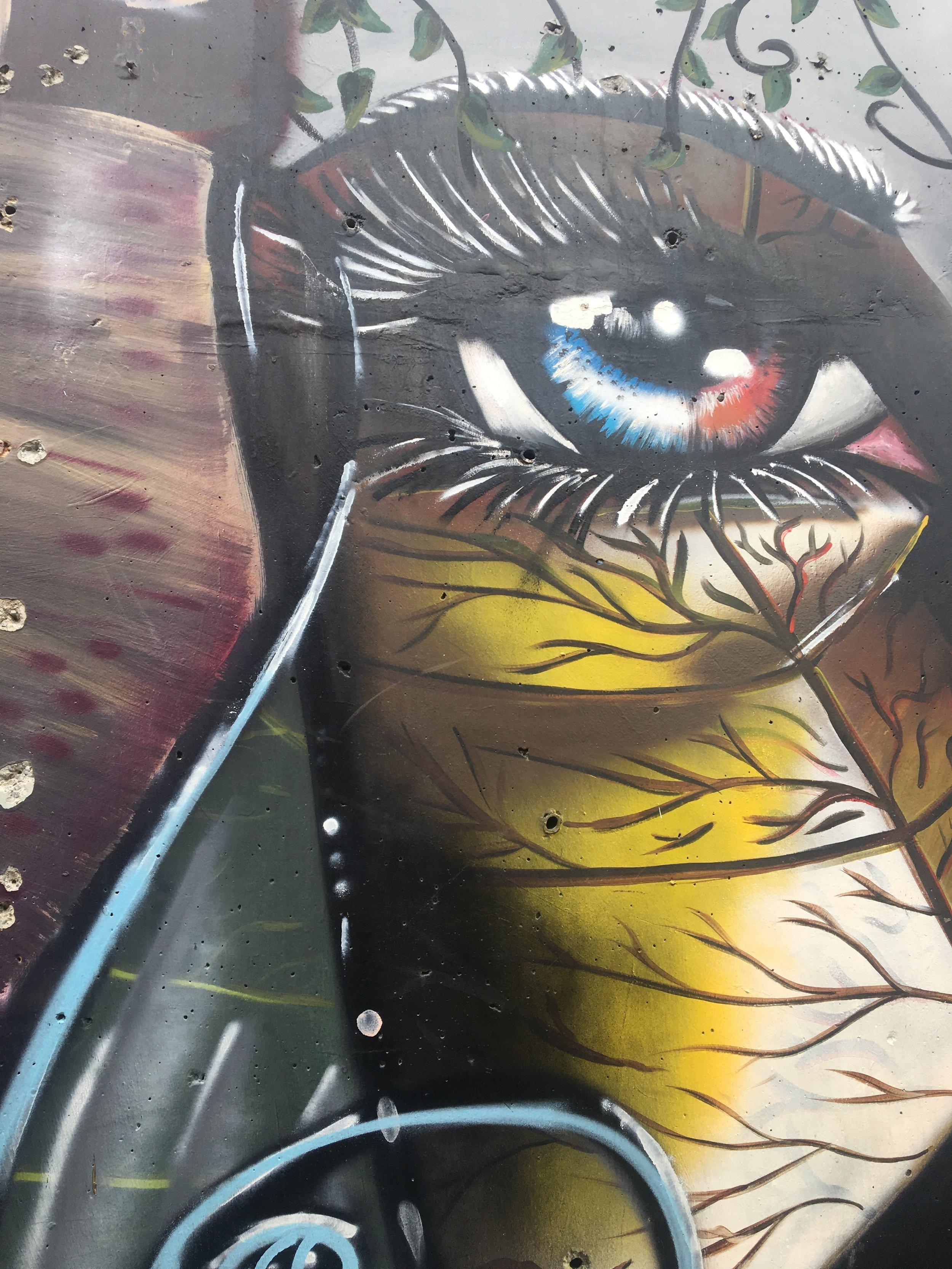 Streetart in Medellin