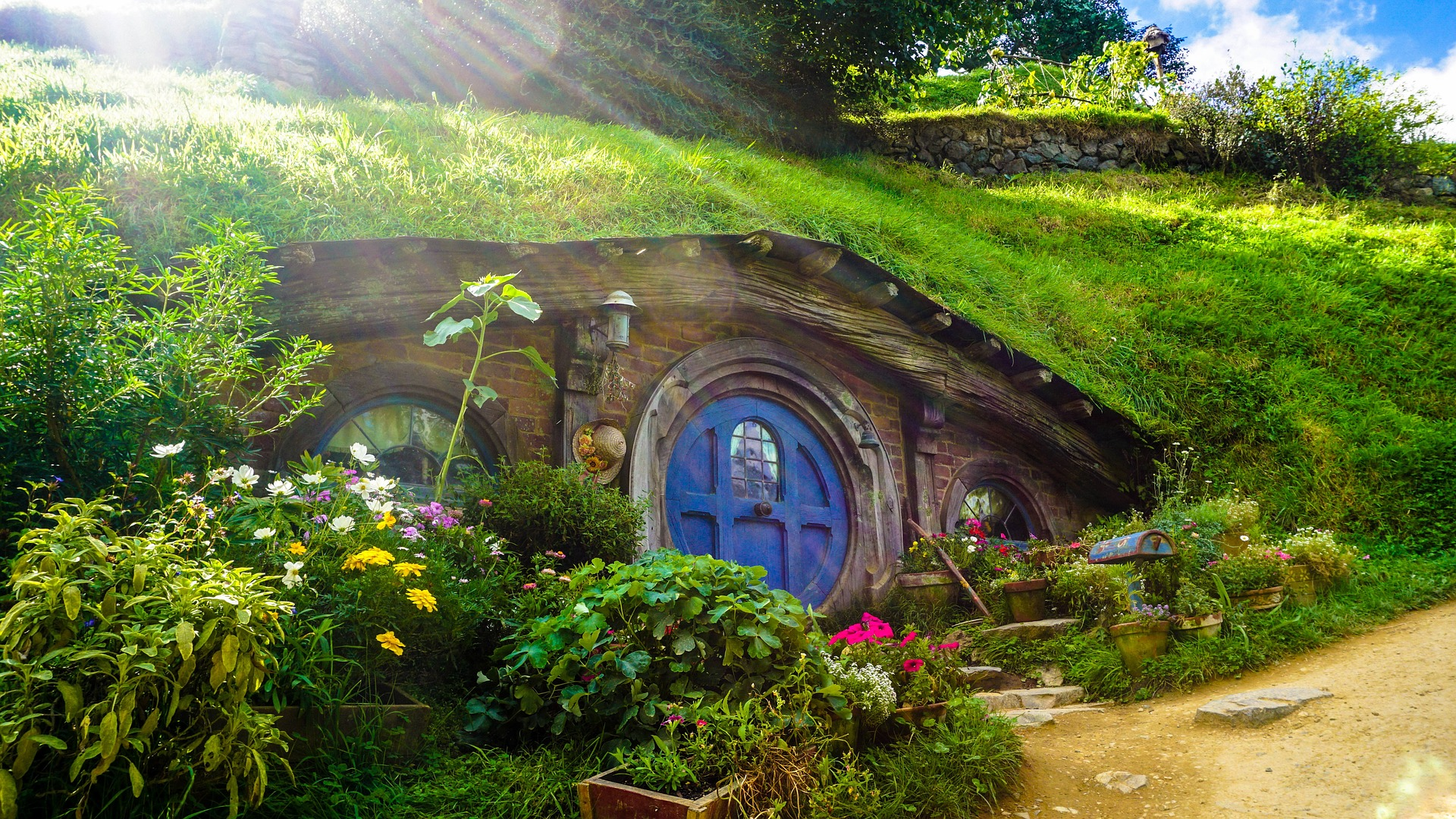 Hobbiton, New Zealand. The longest I had to wait for a visa was for New Zealand: Almost 7 weeks.