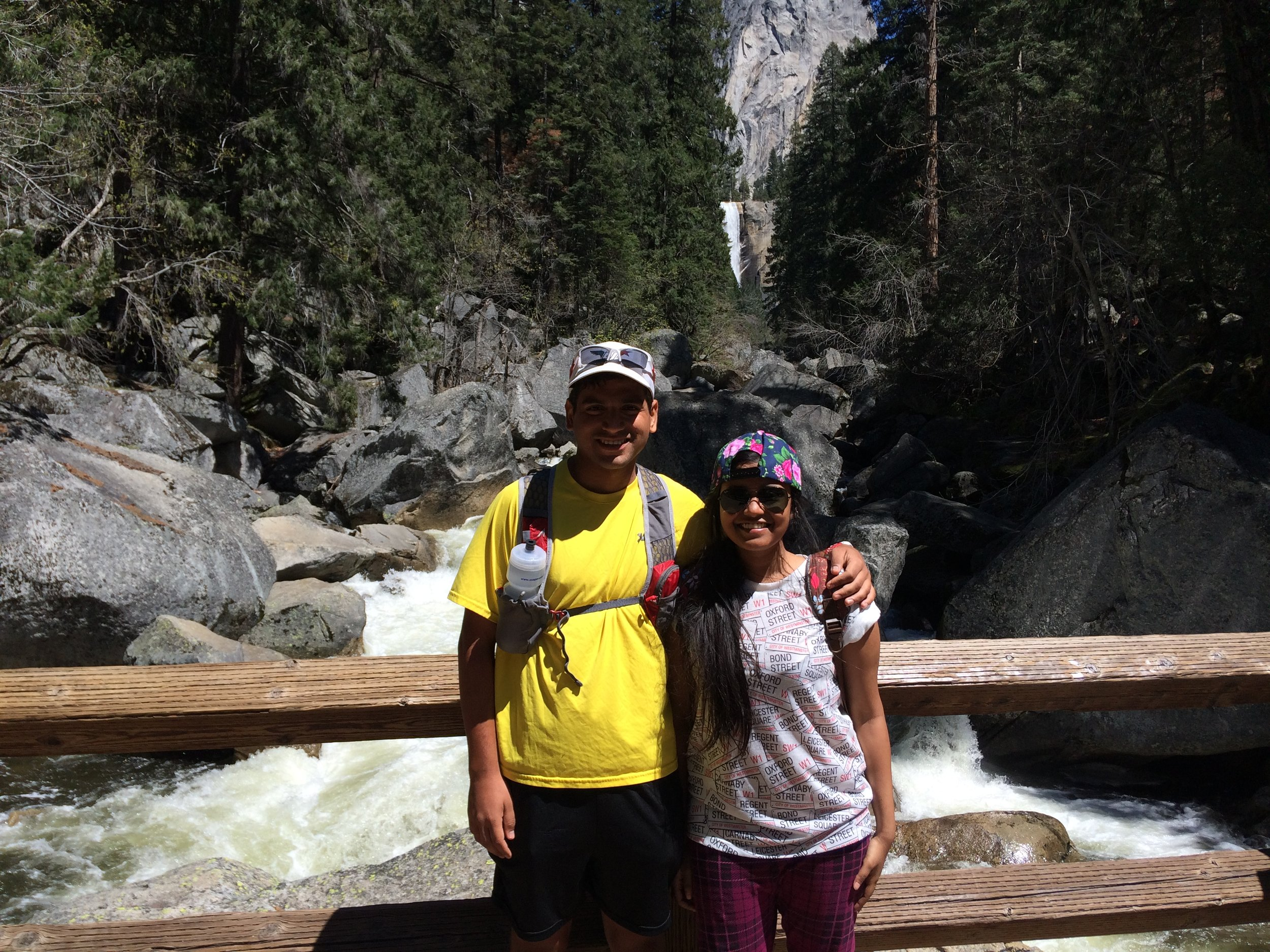 At Yosemite National Park, USA. A Tourist visa for Indians for the US costs USD 165. Based on the discretion of the immigration officer, you might just score a 10 year visa. So, it sure becomes value for money. However, a 10 year UK tourist visa costs USD 1100. Ouch. (Of course the US visa is only valid for 3 months max)