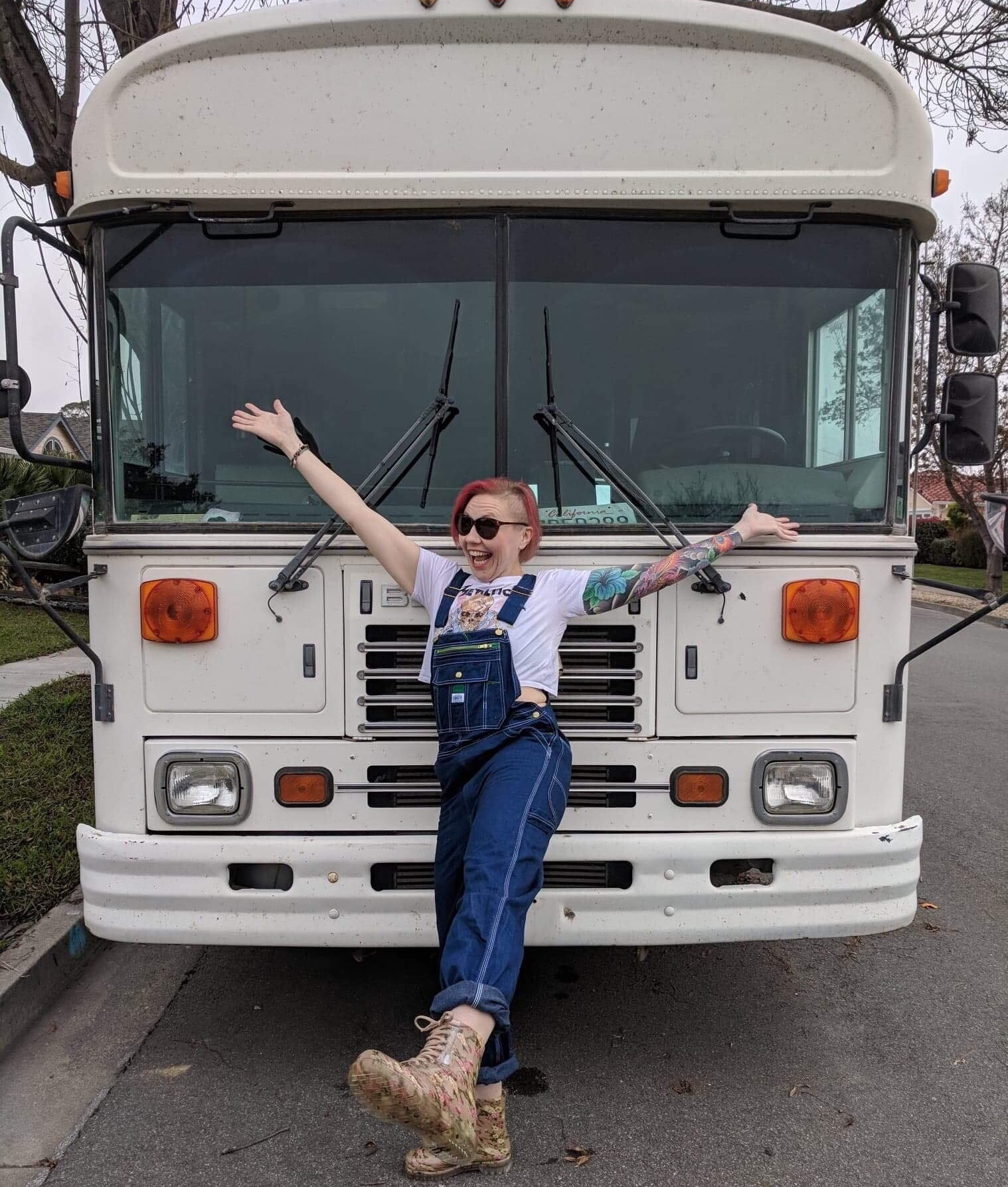When  Jackie McGuire  is not traveling North America in her prison bus or writing about those adventures, Jackie spends her time chasing three kids and two dogs. She's also a CEO, consultant and mentor for startup companies and attends dozens of music festivals every year.