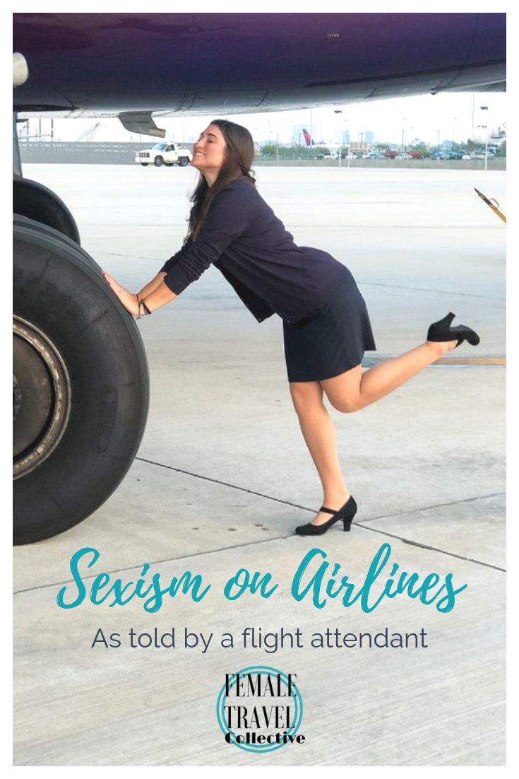 Pinterest Image Sexism on Airlines