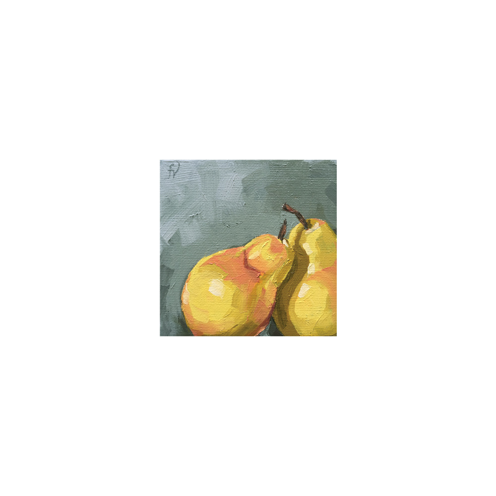 PAIR OF PEARS No.2