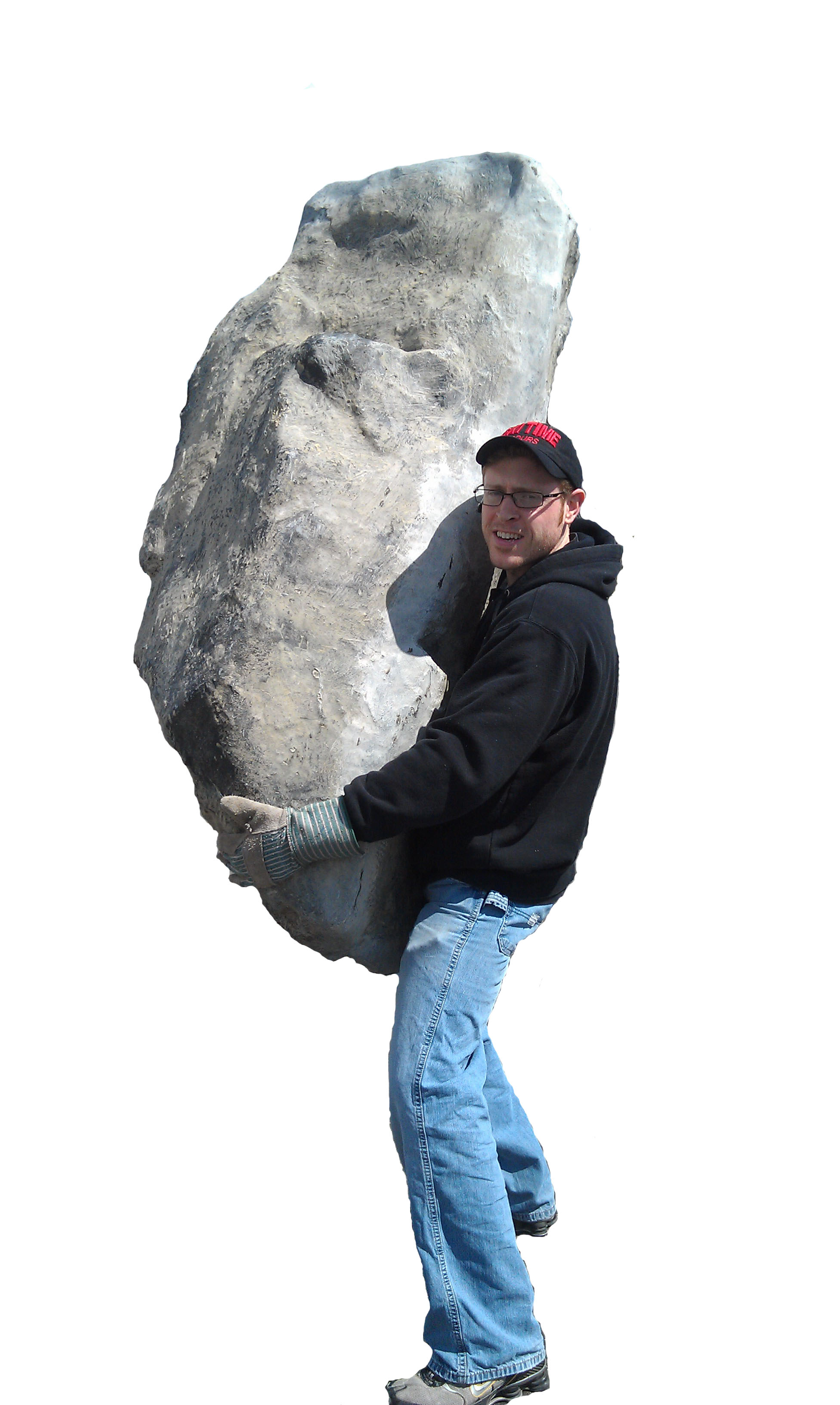 Fiberglass Boulder