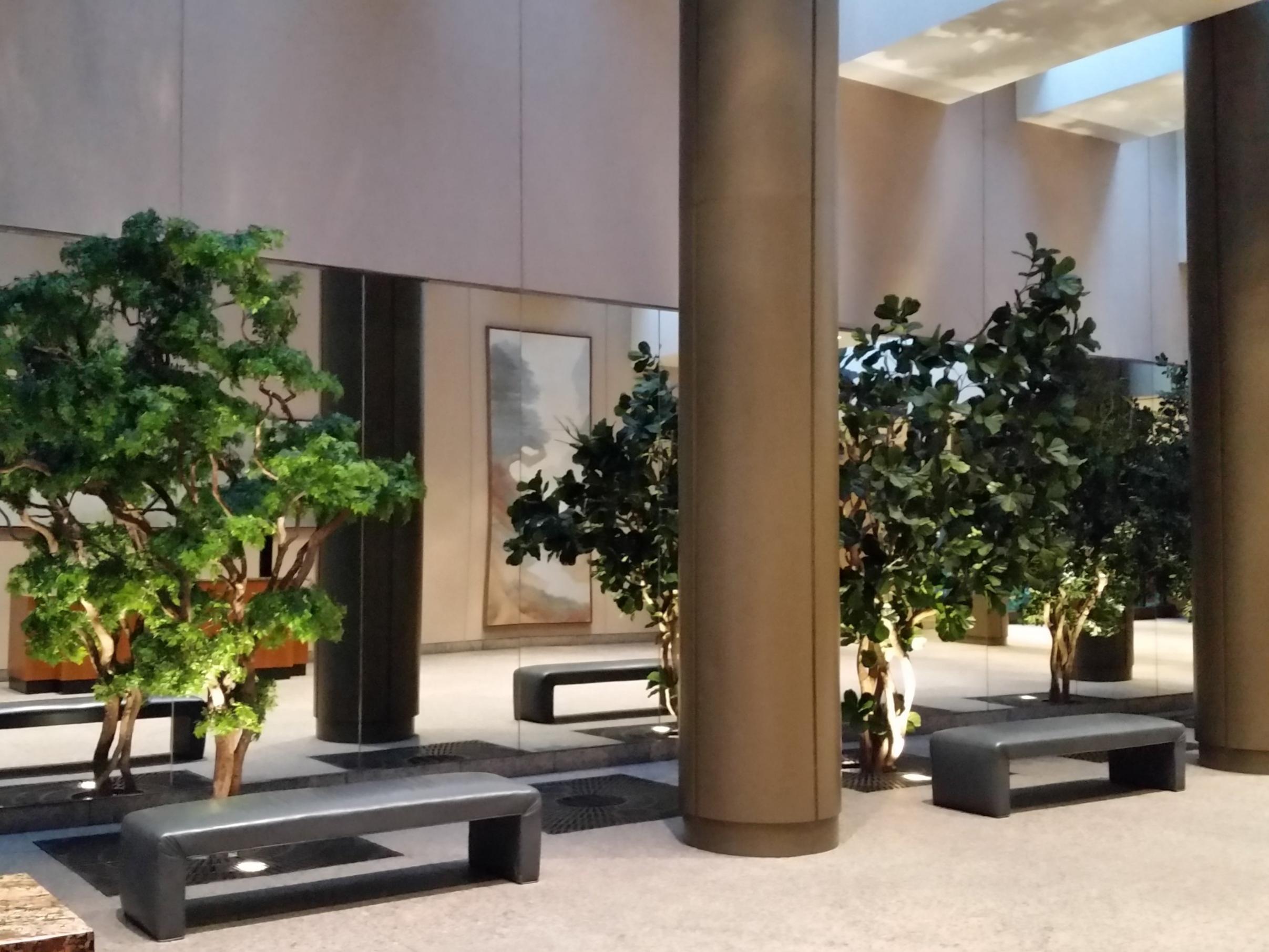 Colonnade Atrium lobby 57th st. NYC