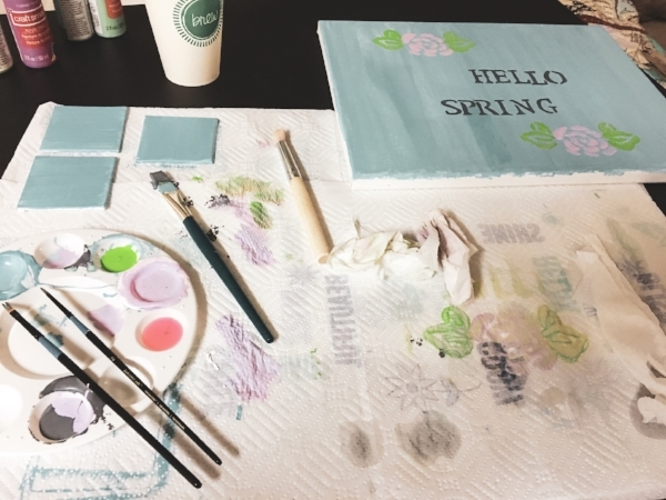 Life With Michele Renee Spring Decor