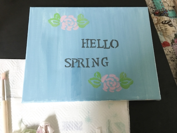 Life With Michele Renee Spring Decor Canvas