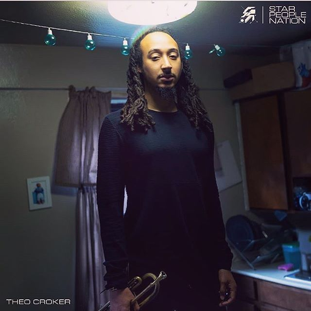 Congrats to @theocroker for the release of his new album #starpeoplenation  out now via @sonymasterworks .