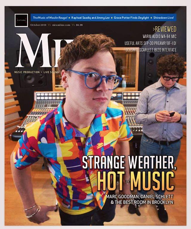 Been a crazy couple of weeks... and even wilder 10 years... but so honored to be featured on the cover of the October issue of #mixmagazine with my best friend and studio mate @marcalangoodman .  Hitting news stands now!