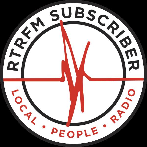 RTRFM Subscriber Badge